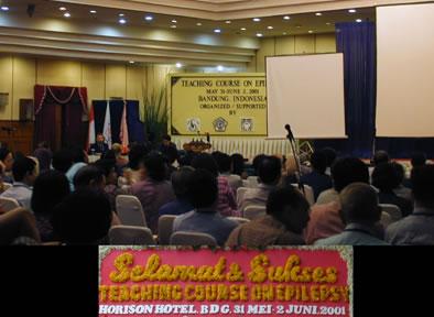 インドネシア・バンドンで開催されたてんかん学研修セミナー